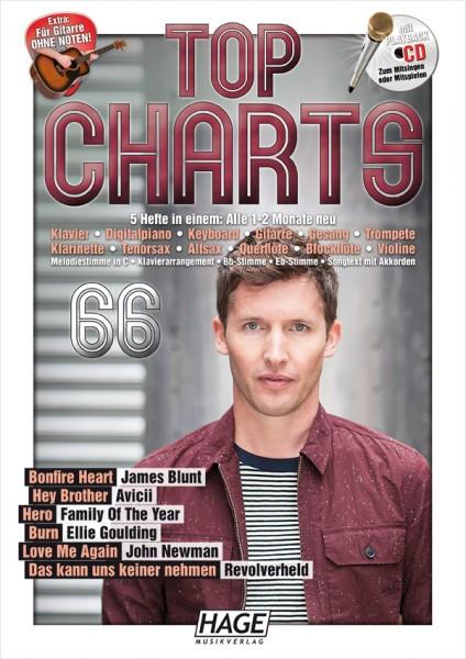 Top Charts 66 (mit CD)