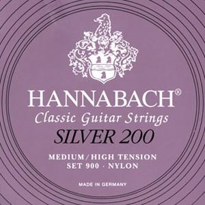 Hannabach Set 900 Silver 200