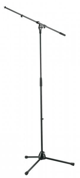 K+M Mikrofonstativ 210/2 schwarz