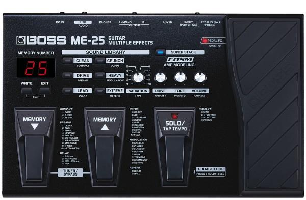 BOSS ME-25 - Multieffektgerät und Preamp
