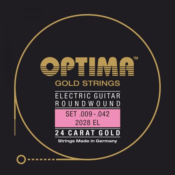 Optima 12028EL Gold Strings E-Gitarre Extra Light