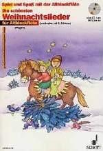 Die schönsten Weihnachtslieder für Altblockflöte (mit CD)