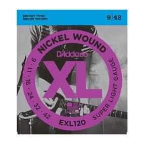 D`Addario EXL 120 Saiten