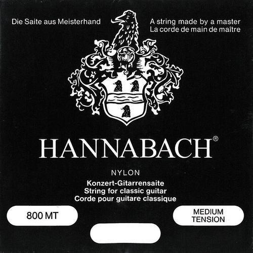 Hannabach Konzert Satz 800 schwarz