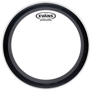Evans EMAD 20 Clear BassDrum Fell
