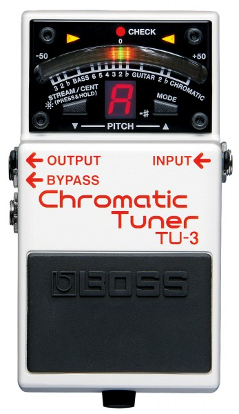 BOSS TU-3 - Chromatic Tuner