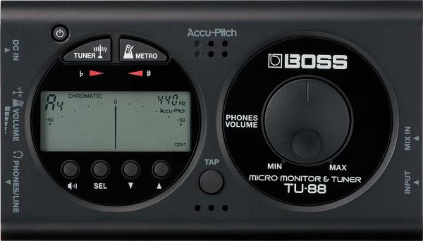 Boss TU 88 Tuner / Metronom
