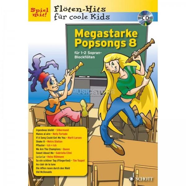 Megastarke Popsongs 8