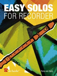 Easy Solos for Recorder de Haske 1023172