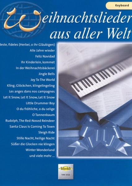 Weihnachtslieder aus aller Welt - Keyboard