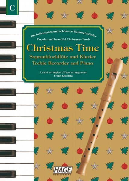Christmas Time Blockflöte und Klavier