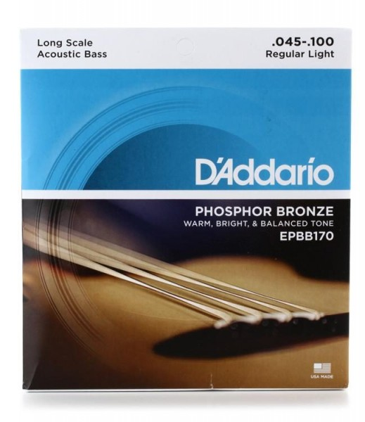 D`Addario EPBB170 Akustik Bass Saiten
