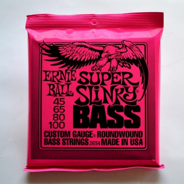 Ernie Ball 2834 Bass-Saiten - Super Slinky