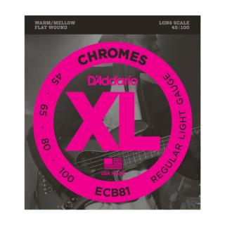 D`Addario ECB81 Chromes Bass Saitensatz