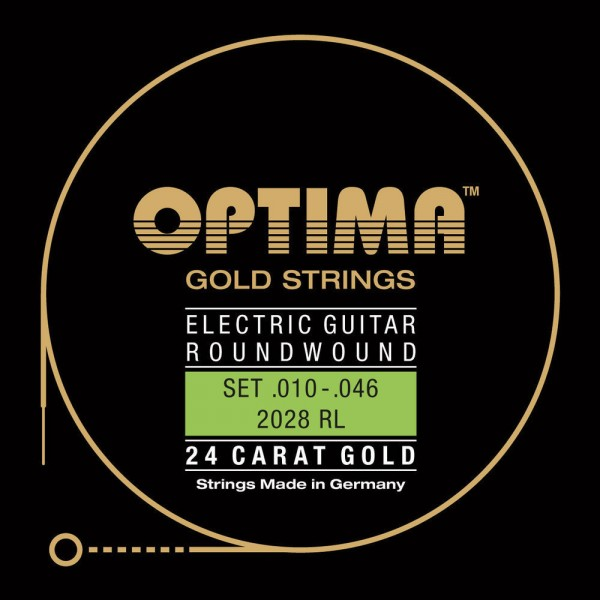 Optima 12028RL Gold Strings E-Gitarre Extra Light