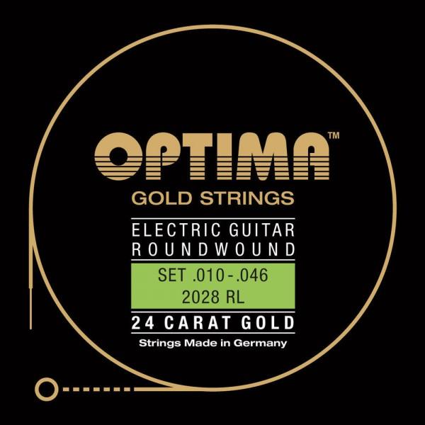 Optima 12028RL Gold Strings E-Gitarre Extra Light