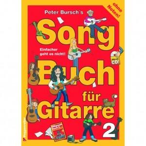 Songbuch für Gitarre 2 (mit CD)