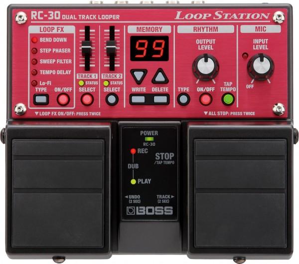 BOSS RC-30 Zwei-Spur-Looper