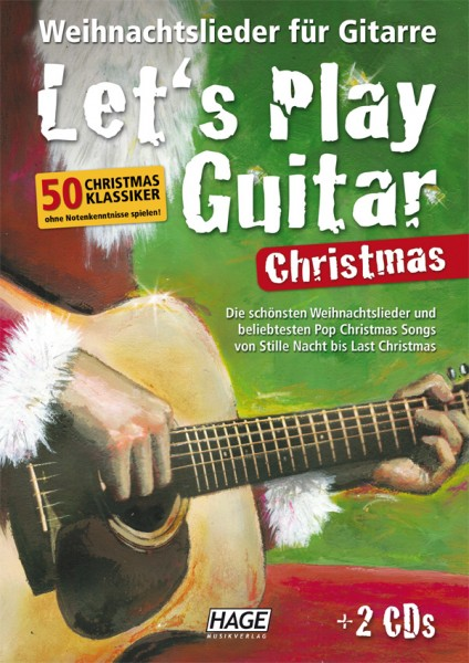 Let`s play guitar christmas (mit 2 CDs)