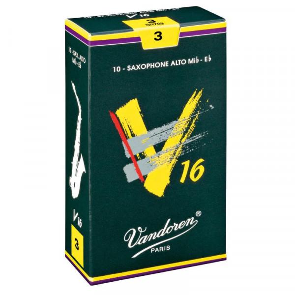Vandoren V16 Blatt für Alt Saxophon Stärke 3