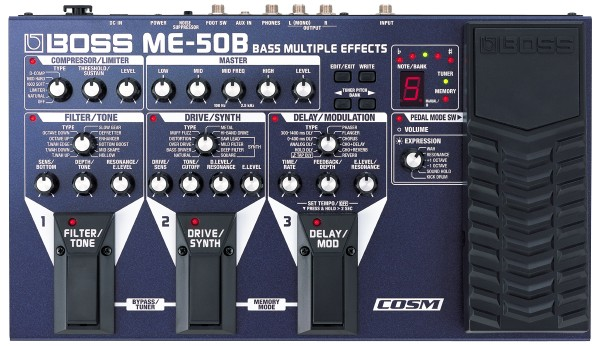 BOSS ME-50B - Bass Multi-Effekt