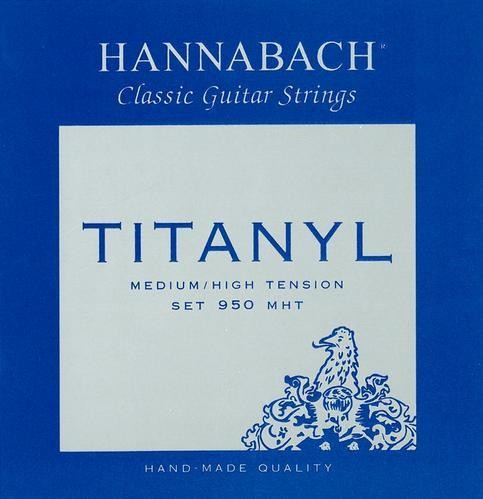 Hannabach Titanyl Klassik Saiten Satz 950