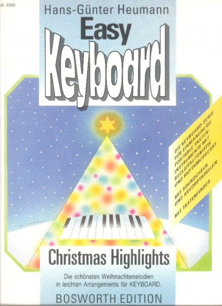Easy Keyboard - Christmas Highlights