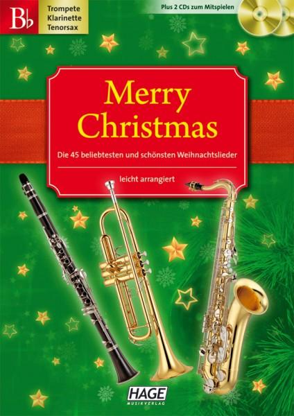 Merry Christmas B-Instrumente (mit 2 CDs)